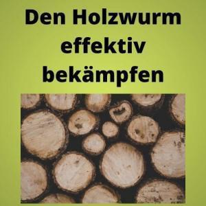 Den Holzwurm effektiv bekämpfen