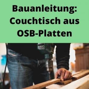 Bauanleitung Couchtisch aus OSB-Platten
